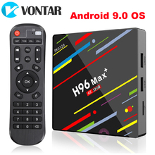 2020 H96 מקס בתוספת אנדרואיד 9.0 4GB RAM 32GB Samrt טלוויזיה תיבת Rockchip RK3328 תמיכה 1080p 4K נטפליקס Youtube ממיר H96 מקסימום