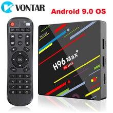 2020 H96 MAX Plus Android 9,0 4GB de RAM 32GB Smart TV Box Rockchip RK3328 apoyo 1080p 4K de Netflix, Youtube set top box H96.