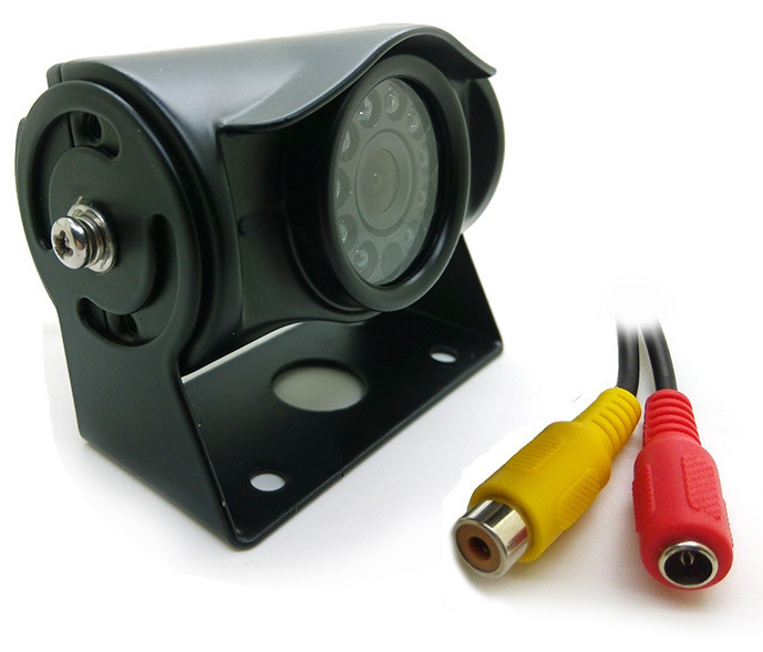 Truck Bus Truck Rear View High-definition CCD Night Vision Infrared Camera 9 ~ 36V Wide Voltage PZ474
