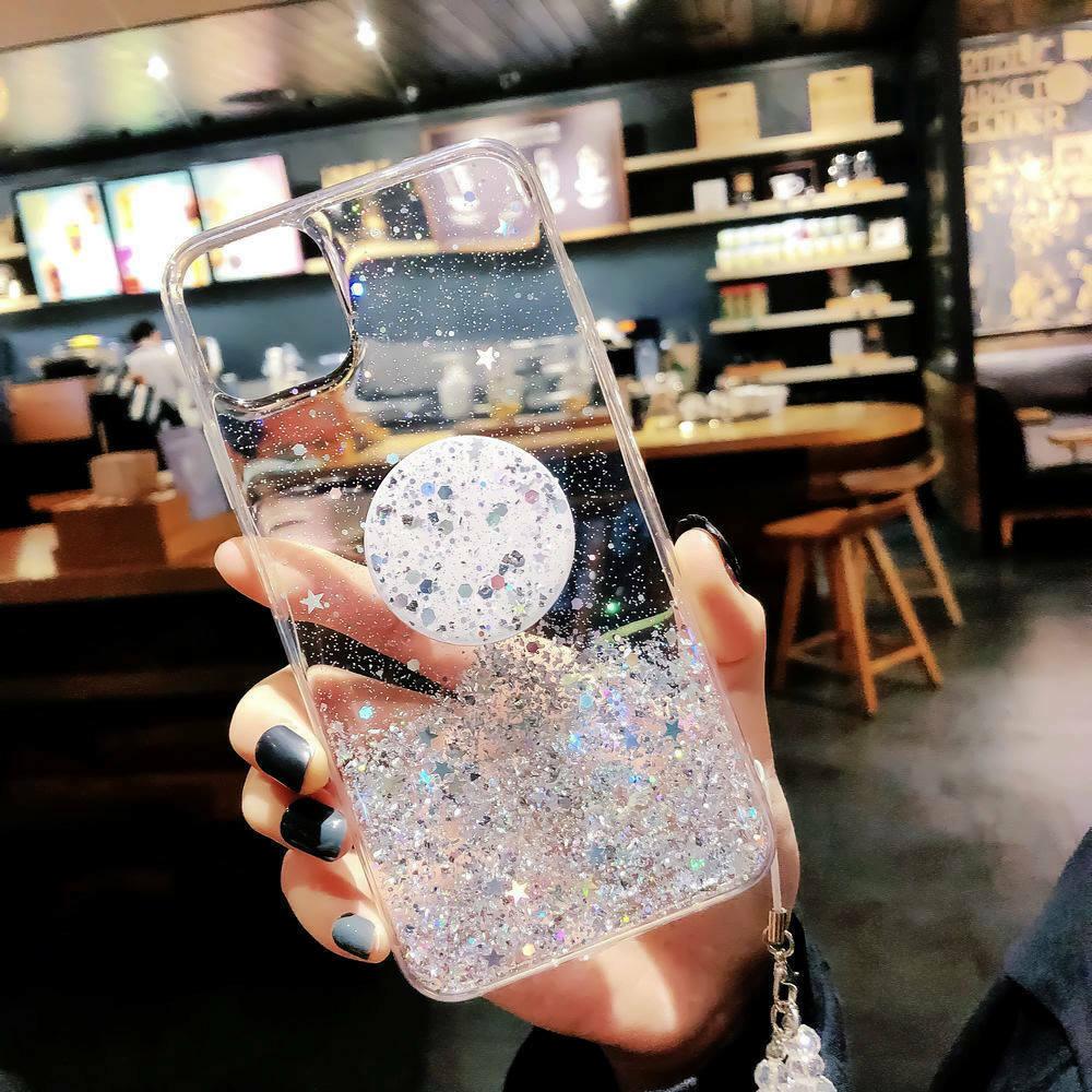 Unique Glitter Case for iPhone SE (2020) 52