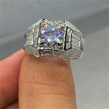 Блестящее роскошное серебряное кольцо натуральный белый цвет