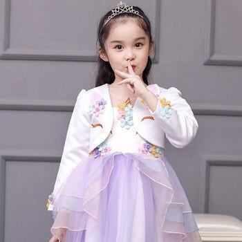 Unicorn Jacket for Girls Top Veste  1