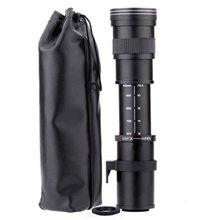 420-800mm F/8,3-16 телефото зум-объектив для цифровой зеркальной камеры Nikon Камера D5100 D5300 D5200 D7500 D3300 D3400 D3200 D90 D7200 D5600 D3X