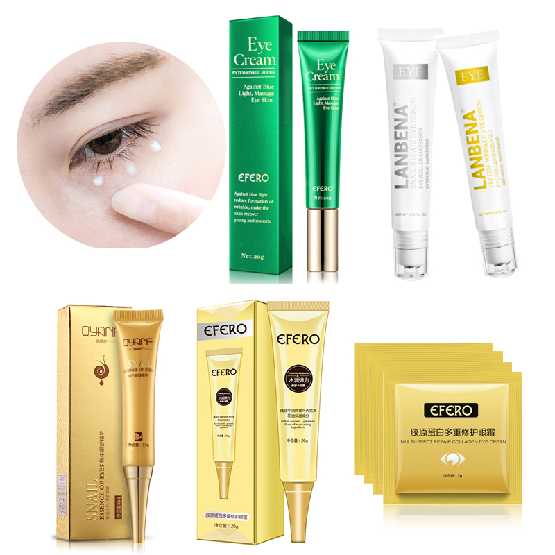 Peptide Collagen Eye Cream Anti-Wrinkle Anti-Age Remove Dark Circles Eye Lift Care Against Puffiness And Bags Eye Essence Cream