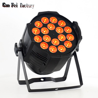 led par can 18x12w high quality Wash Lights RGBW 4in1 with Mute fan and DMX control good for stage lighting
