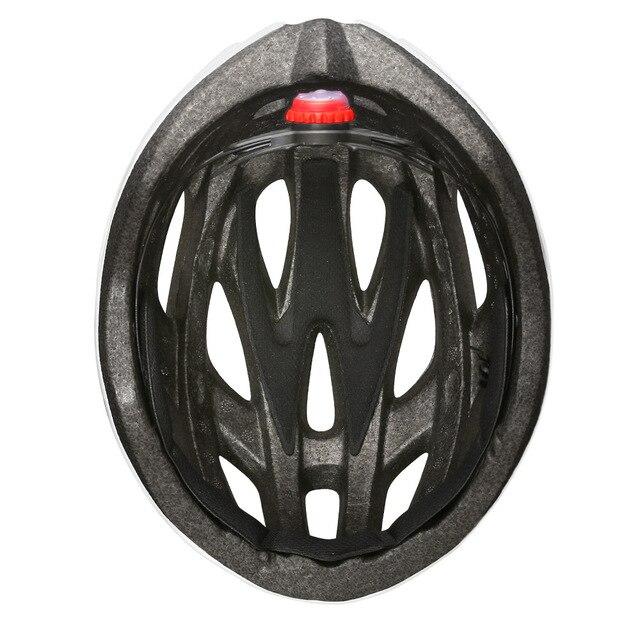 Oad ciclismo capacete luz da cauda integralmente moldado capacetes mtb bicicleta capacete ultraleve com visor removível óculos de proteção 6