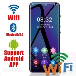 2020 WIFI Android MP3-плеер Bluetooth 5,0 сенсорный экран 3,5 дюймов hifi музыкальный mp3-плеер с динамиком, FM, электронной книгой, рекордером, видео