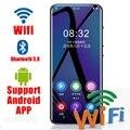 M200 WI-FI Android MP3 плеер Bluetooth 5,0 сенсорный Экран 3,5 дюймов с функцией подачи Хай-Фай музыки и mp3 плеер с Динамик, FM, электронная книга, Регистраторы, ...