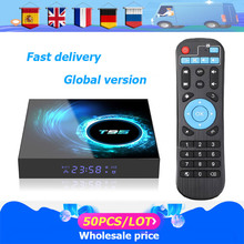 50 Stks/partij Smart Tv Box T95 Android 10 6K H616 Quad Core Media Player Gratis App Snelle Set Top doos X96Air Pk HK1MAX H96