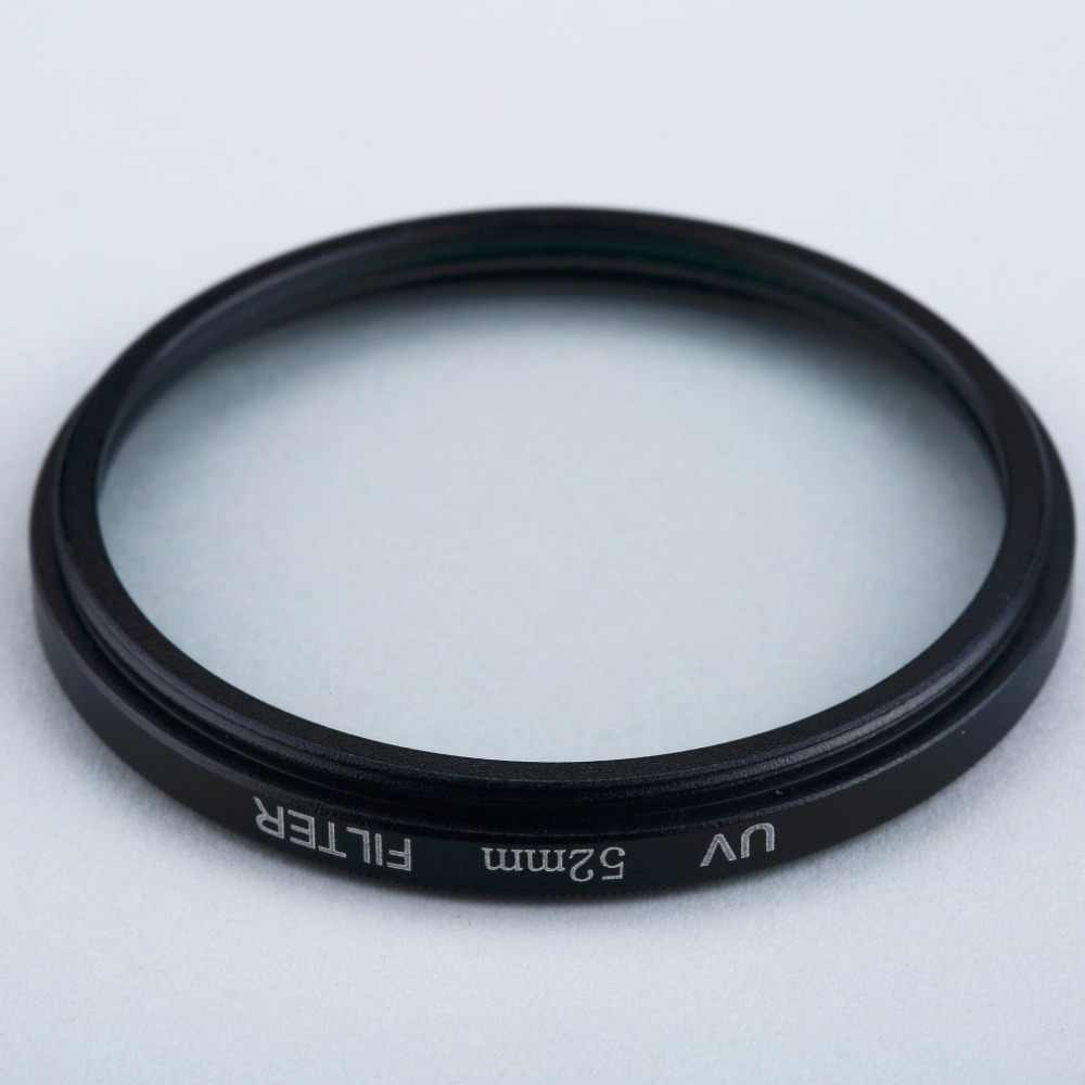 52mm Haze UV Filter Lens 52mm Lens Protector for DSLR//SLR//DC//DV Camera Lens Dust-Proof Moisture-Proof Scratch-Proof
