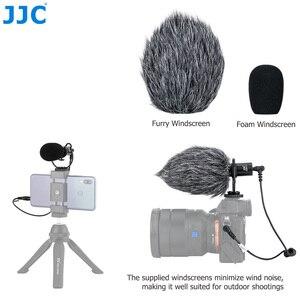 Image 4 - JJC Cardioid Microphone Cho Máy DSLR Máy Ảnh Không Gương Lật Video Máy Quay Phim Điện Thoại Máy Tính Bảng Đầu Ghi Micro Cho Vlogger Cuộc Phỏng Vấn