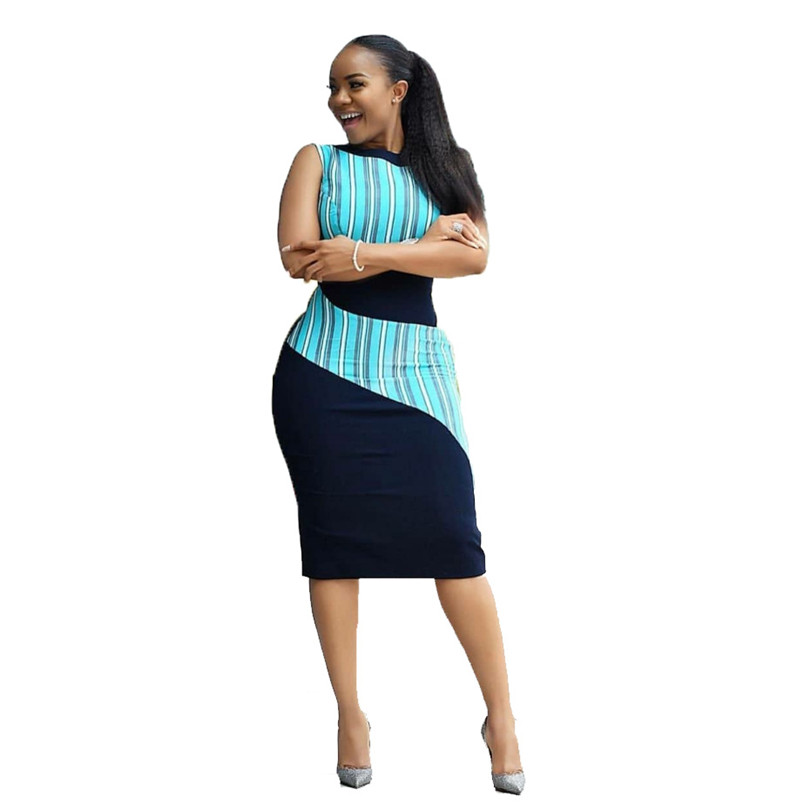 US $8.52 45% OFF|Sundress Plus Size Printing Tube Dress For Women vestido  New Summer Dress Sale african clothing for women dresses large size-in ...