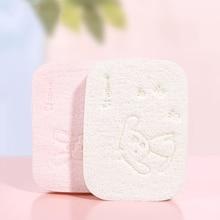 Sponge Natural Cleansing Soft-Konjac Facial-Puff Face-Protect-Skin Exfoliator 2PCS Bath-Wash