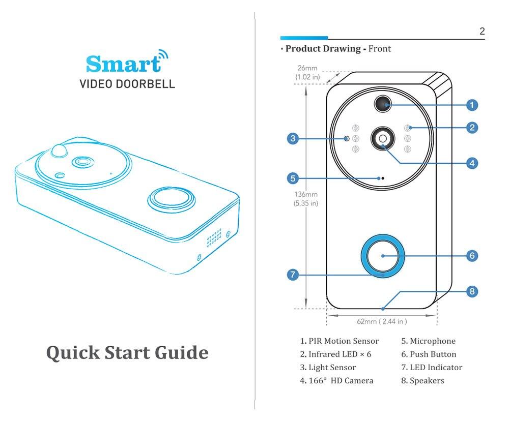de movimento two-way intercom função tuya câmera