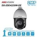 Оригинальная ip-камера Hikvision 2 МП PTZ с моторизованным 25X зумом, скоростная купольная камера видеонаблюдения IR 100 м объектив 4,8-120 мм DS-2DE4225IW-DE