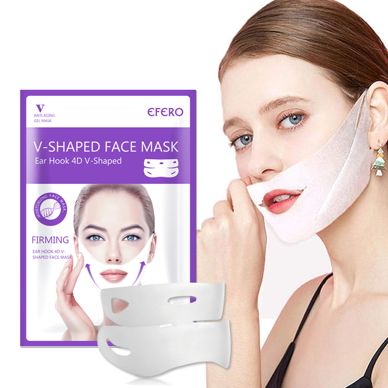 Image 4 - 1/2/3PCS 4D V Shape Slim Mask Face Lift Tools Thin Face Mask 