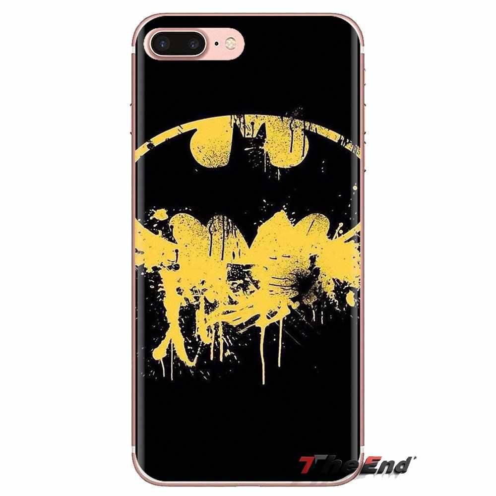 Coque de téléphone Anime Super-Héros Batman logo Pour HTC U11 Un M7 M8 A9 M9 M10 E9 Désir 630 530 626 628 816 820 Motorola G G2 G3