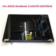 شاشة LCD باللمس مقاس 13.3 بوصة لأجهزة ASUS ZenBook Flip S UX370UA UX370U UX370UAF UX370UAR استبدال شاشة LCD العلوي