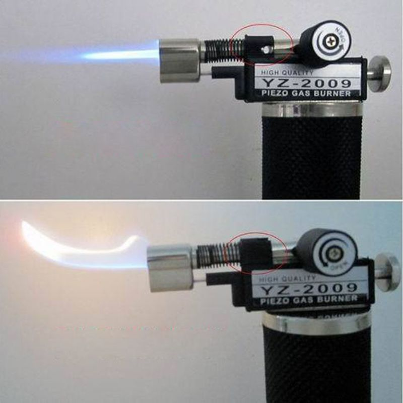 Micro Blow Torch Adjustable Flame Gold Silver Welding Soldering Jewelry Torch image