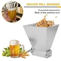 Grains Mill Grinder Food Processors Superfine Large Manual Powder Machine Stainless Steel Malt Corn Food Grinder Manual
