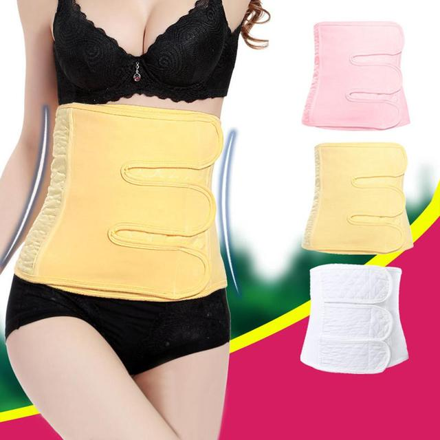 Adjustable Women Post Partum Corset Belts Waist Trimmer Band Body Shapewear Tummy Control Body Shaper Slimming Belt