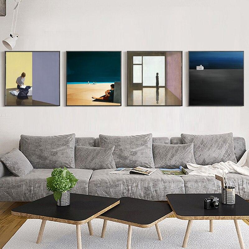 Retrato artístico clásico reproducción lienzo impresión cartel Arte gran tamaño pared imágenes para la decoración del hogar sala de estar Arte clásico reproducción artista Magritte el beso carteles e impresiones lienzo arte pintura cuadros de pared para la decoración del hogar
