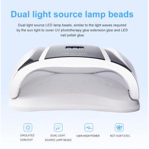 Image 2 - Pro 120W Uv Lamp Led Nail Lamp High Power Voor Nagels Alle Gel Polish Nail Dryer Auto Sensor Zon led Light Nail Art Manicure Gereedschappen