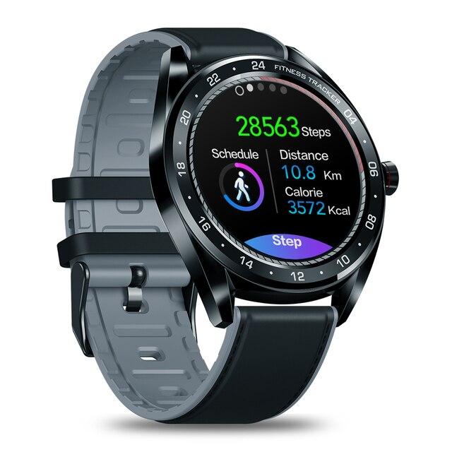 מקורי Smartwatch Zeblaze NEO קצב לב לחץ דם רב פרצופים חכם שעון גברים צבע מגע תצוגת הודעות הודעה