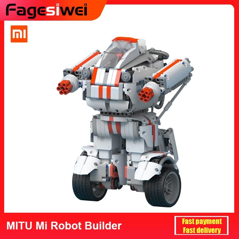 Xiaomi MITU Mi Robot Builder STEM Toys for Children Wireless control Modular Graphic Programming EU PLUG