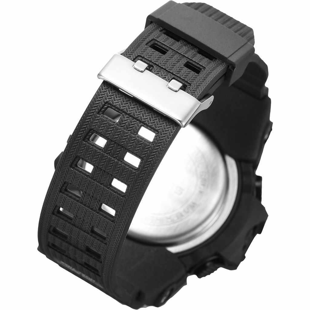 Reloj electrónico multifunción OTOKY resistente al agua con personalidad de doble tiempo para hombre, reloj Digital para hombre, reloj deportivo al aire libre para hombre