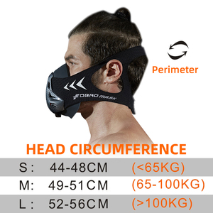Image 5 - FDBRO Sports Running Mask Training Fitness Gym Workout Cycling Elevation High Altitude Training Conditioning Sport Masks 3.0