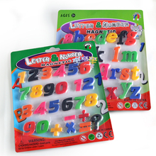 Magnetic Fridge Stickers Uppercase lowercase Letters and Number Kids Stickers for Home School Teaching/Early Childhood Education