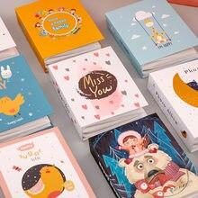 Novo 100 bolsos 6 polegada álbum de fotos armazenamento scrapbooking imagem caso dos desenhos animados animais álbum de fotos quadro família