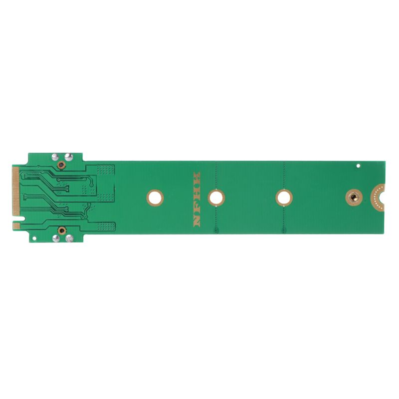 For MacBook Air Pro <font><b>12</b></font>+<font><b>16</b></font> <font><b>Pins</b></font> <font><b>SSD</b></font> to M.2 Key M (NGFF) PCI-e Adapter Converter Card for PC Computer Accessories 95AF image