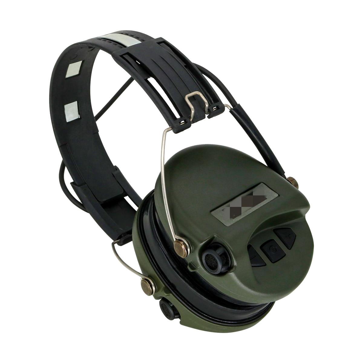Тактические наушники MSA Airsoft Sordin, уличные охотничьи Электронные Наушники с защитой слуха и шумоподавлением, тактические наушники для стрельбы-4
