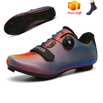 Professional Athletic Bicycle Shoes MTB Cycling Shoes Men Self-Locking Road Bike Shoes sapatilha ciclismo Women Cycling Sneakers 8