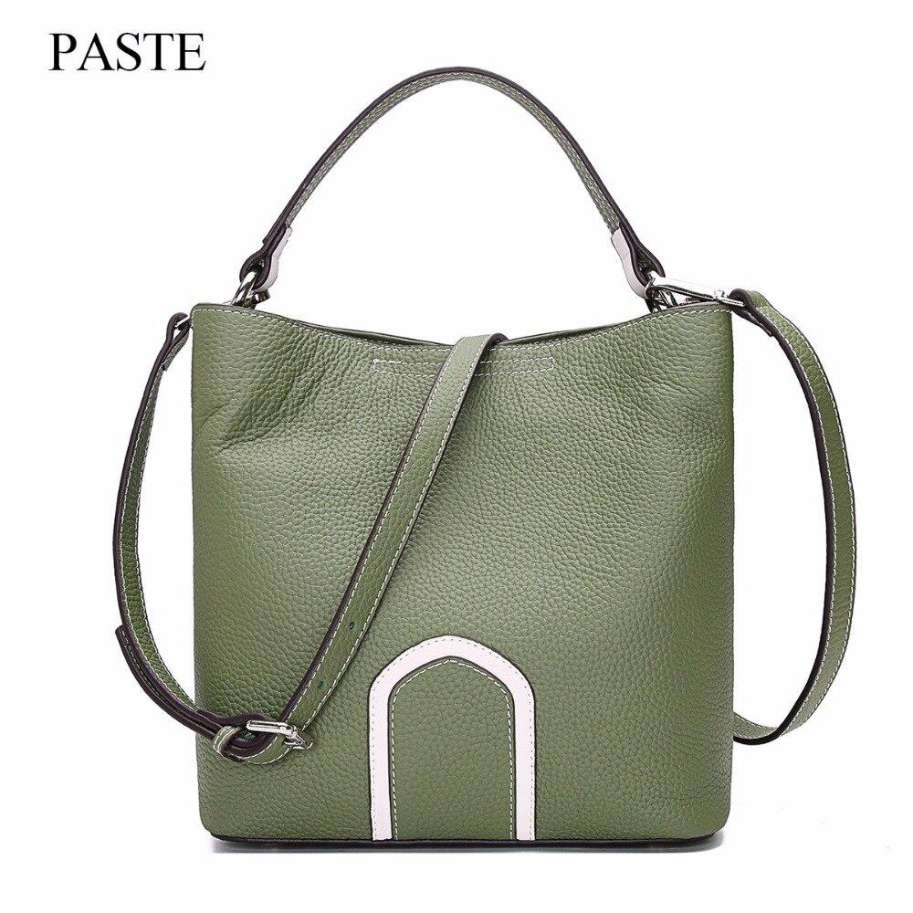 2017 лучшие женские сумки из натуральной кожи, Весенняя женская сумка на плечо, модные женские сумки, большой бренд, ipad, розовая сумка через пл... - 2