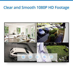 Image 4 - SANNCE 4CH 1080N HDMI DVR CCTV 시스템 4pcs 1080P 보안 카메라 IR 실내 방수 야외 비디오 감시 CCTV 키트