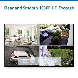 Image 4 - Sannce 4CH 1080N hdmi dvr cctv システム 4 個 1080 1080p セキュリティカメラ ir 屋内防水屋外ビデオ監視 cctv キット