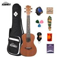 Acouway Ukulele concert Soprano tenor ukulele 21\
