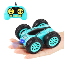 Toys Robot Stunt-Car Crawler-Roll Drift RC Rock Kids Double-Sided 4CH Flip 360-Degree