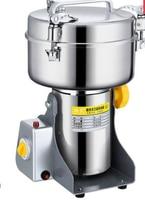 2500g Chinese Medicine Grinder Grain Mill Electric Grinding Machine Nut Herbs Crusher Miller Shredder Pulverizer220V
