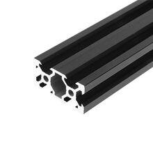 Cadre d'extrusion de profil en aluminium 2040, 1 pièce, pièces d'imprimante 3D, Rail linéaire Standard européen, Machine à graver au Laser