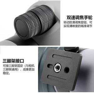 Image 4 - 20 60X80 Spotting Scope High Power Dual Speed Gericht Verrekijker Stikstof Waterdicht Anti Fog FMC Nachtzicht Telescoop