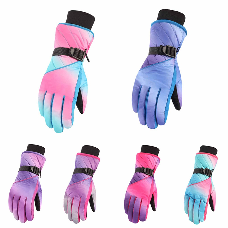 Ski Gloves Winter Warm Snow Gloves For Skiing Waterproof And Breathable Touchscreen Support Fits Men Women