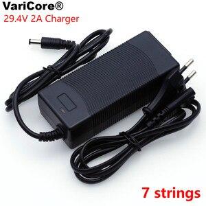 Image 5 - VariCore 12V 24V 36V 48V Serie 3 Serie 6 7 Serie 10 Serie 13 String 18650 batteria al litio Caricabatterie 12.6V 29.4V DC 5.5*2.1 millimetri