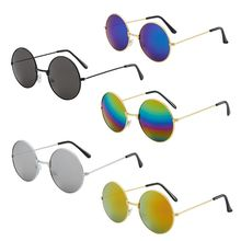 Vintage Round Sun Glasses New Fashion Candy Mirror Sunglasses UV 400