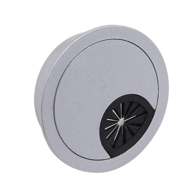 1 шт. крышки для кабельных отверстий круглая кабельная втулка для компьютерного стола крышки для кабельных отверстий мебельная фурнитура выход порт Поверхностная линия Сортировка инструментов - Цвет: 50mm