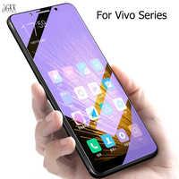Protector de pantalla de vidrio templado Anti-azul para Vivo V11 V11i V9 X21 X20 Plus X9 X9S Plus Y85 Y67 Y75 Y79 Y97 Z1 Z3 Z3i