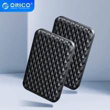 Orico 2.5 Polegada tipo-c hdd caso usb3.1 5gbps 4tb hdd gabinete suporte uasp caixa de disco rígido externo com a c/c para c cabo